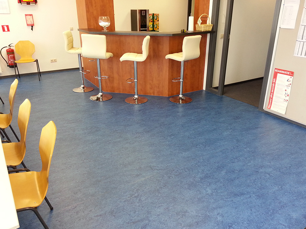 Marmoleum tth projectstoffering